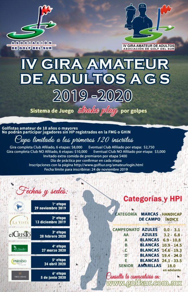 IV Gira Amateur de Adultos 2019-2020